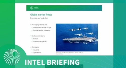 Intel Briefing: Global Aircraft Carrier Operations