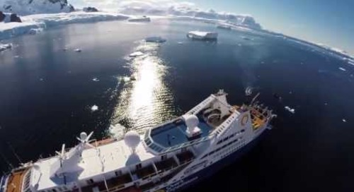 Ocean Diamond: Aerial view from the Drone