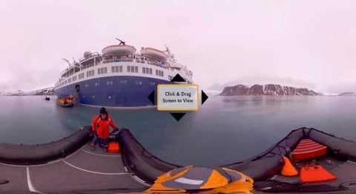 Arctic 360°: Spitsbergen Zodiac Cruising