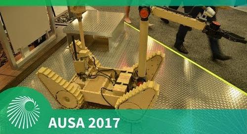 AUSA 2017: Northrop Grumman launch Nomad UGV