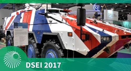DSEI 2017: Boxer 8x8 - Artec