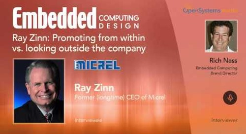 Ray Zinn: Promoting from within vs. looking outside the company