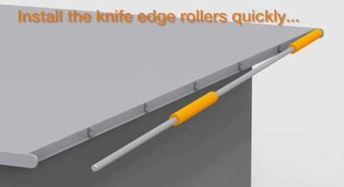 iglide knife edge rollers