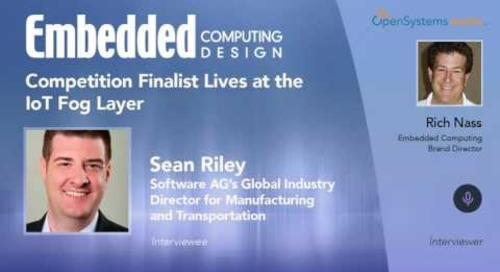 Competition Finalist Lives at the IoT Fog Layer