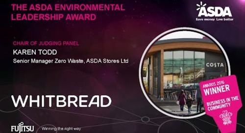 The Asda Environmental Leadership Award - Whitbread - Judges Comments