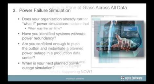 Preventing Catastrophic Data Center Power Outages – Webinar Recording