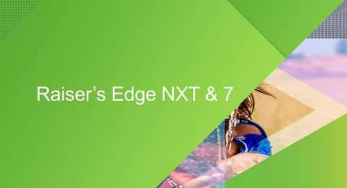 GDPR and TLS Update: Raiser's Edge 7 & NXT, NetCommunity, and Online Express