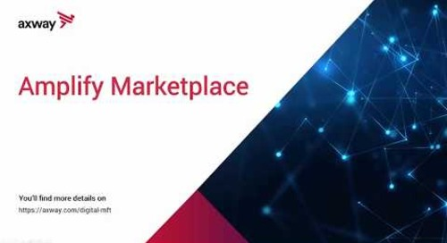 Demo – Digital MFT plug-ins on Axway Marketplace