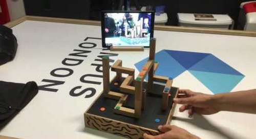 Koskigame demos AR board game at IoT start-up event