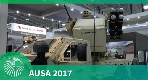 AUSA 2017: Flexible weapons integration on the Oshkosh JLTV