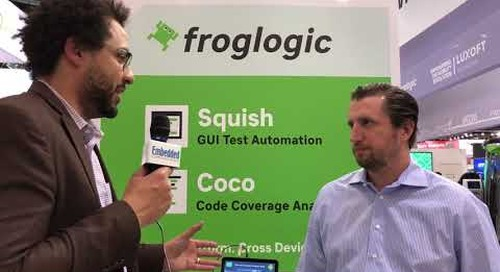 Froglogic at Embedded World 2018