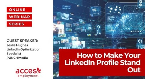 How To Make Your LinkedIn Profile Stand Out