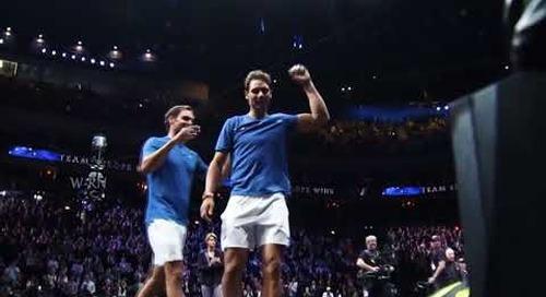 Roger Federer & Rafael Nadal   R Srinivasan & Kala