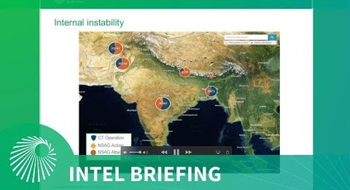 Intel Briefing: Instability and Arms Competition in South Asia