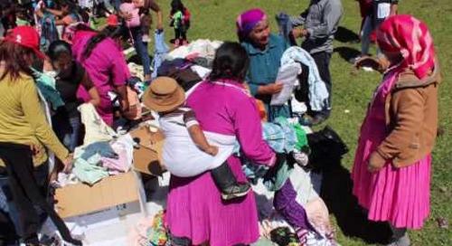 YKK Honduras' contributions to the local community in 2016