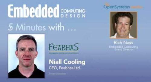 Five Minutes with Niall Cooling, CEO, Feabhas Ltd.