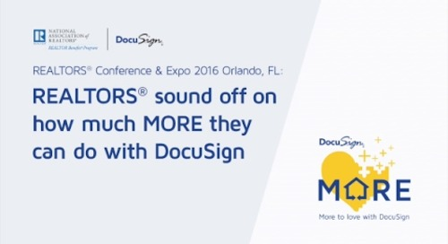 REALTORS® Love DocuSign!