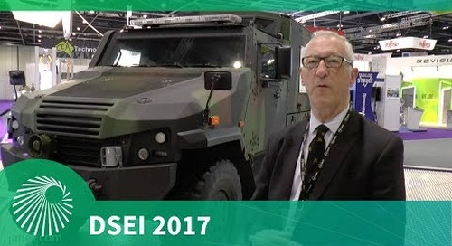 DSEI 2017: The EAGLE 6x6 Multi Role Vehicle - Protected, from General Dynamics