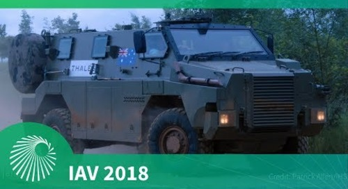 IAV 2018: Thales Bushmaster MR6 debut