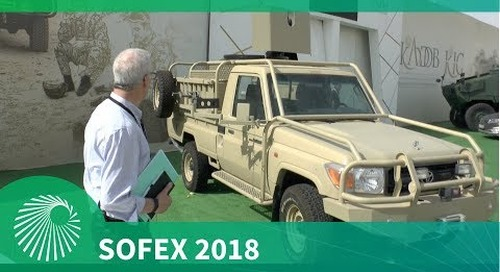SOFEX 2018: KADDB upgrade to Toyota Land Cruiser