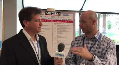 Rich Nass talks with David Kleidermacher at MEDSec 2017