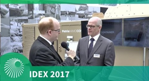 IDEX 2017: Patria NEMO Container - First look