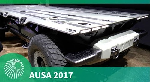 AUSA 2017: GM unveils Silent Utility Rover Universal Superstructure (SURUS) vehicle