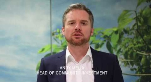 Give and Gain - Andy Melia, Head of Community Investment