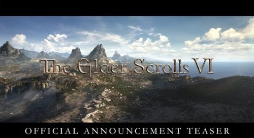 The Elder Scrolls VI gets an all-too-short teaser