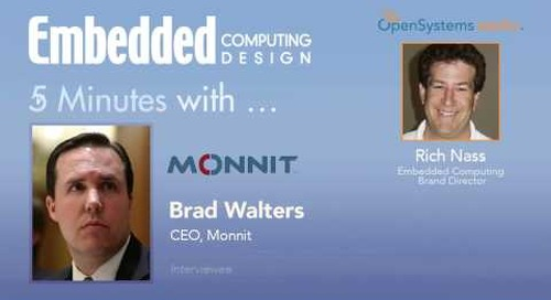 Five Minutes With…Brad Walters, CEO, Monnit