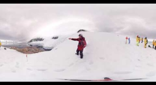 Antarctica: Geologist & Glaciologist Colin Souness at Neko Harbor (360° VR)