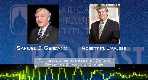 Research Looks at Implicit or Explicit Bias in the Bankruptcy System