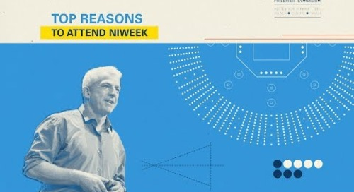 NIWeek 2018: Reasons to Attend