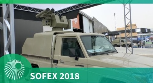 SOFEX 2018: Show debut vehicle mounted 'Twin JADARA Terminator'