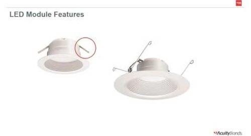 Lithonia Lighting® E Series LED Recessed Module