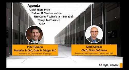 Beyond Compliance:  Federal IT Modernization