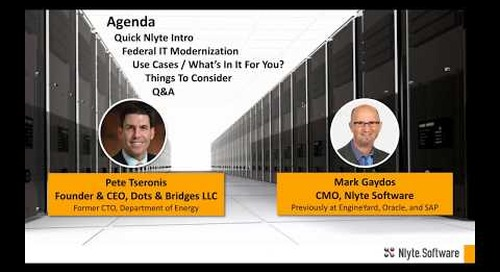 Beyond Compliance:  Federal IT Modernization