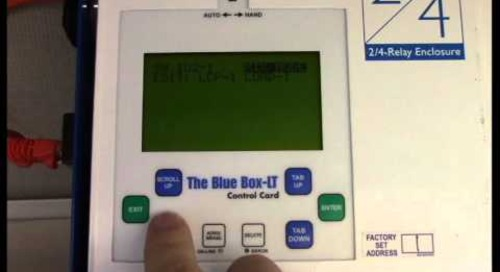 How to Program a Blue Box LT Panel to a Chelsea Switch – Acuity Brands