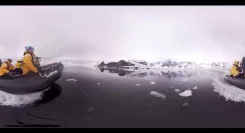 Antarctica: Quark Expeditions Teaser (360° VR)