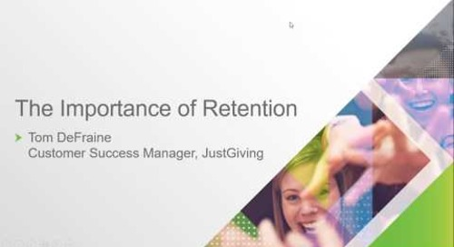 On-demand webinar: The Importance of Retention