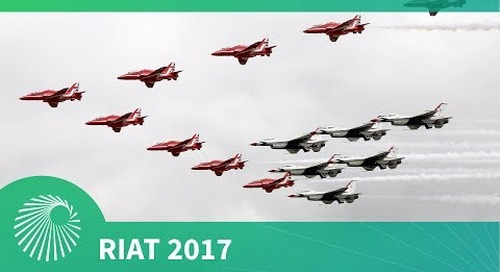 RIAT 2017: USAF 70th Anniversary spectacle