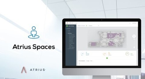 Atrius Spaces Platform Service - IoT Space Utilization Application and API