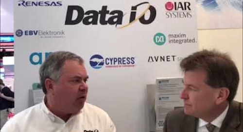 Data I/O at Embedded World 2018