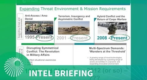 Intel Briefing: Defence Technology Innovation and the Future of Military Capabilities