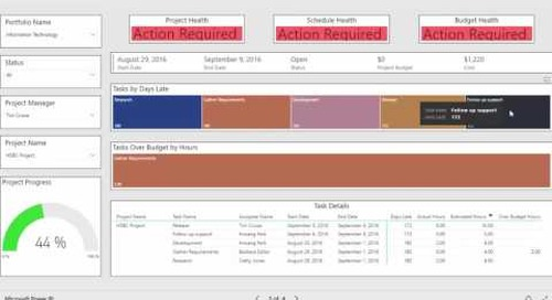 Business Intelligence   Project Summary Report