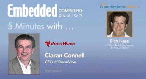 Five Minutes With… Ciaran Connell, CEO of DecaWave