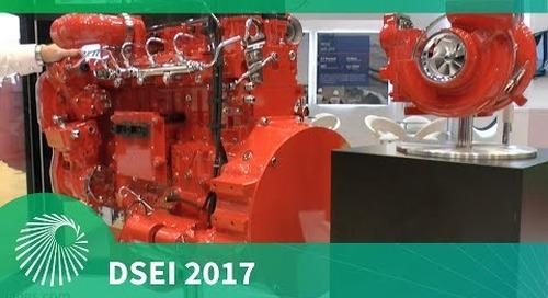 DSEI 2017: Cummins and their new ISL9 Engine