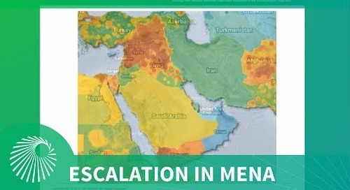 Intel Briefing: Inter-state escalation in the MENA Region