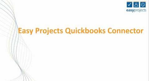 Quickbooks Connector Demo