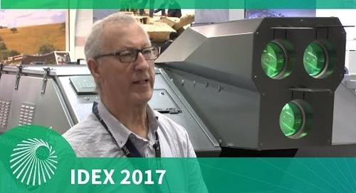 IDEX 2017: Oerlikon High Energy Laser Gun